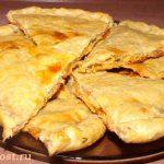 Хрустящий пирог с сыром и паприкой фото