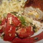 Свинина с болгарским перцем и сыром - По-милански фото